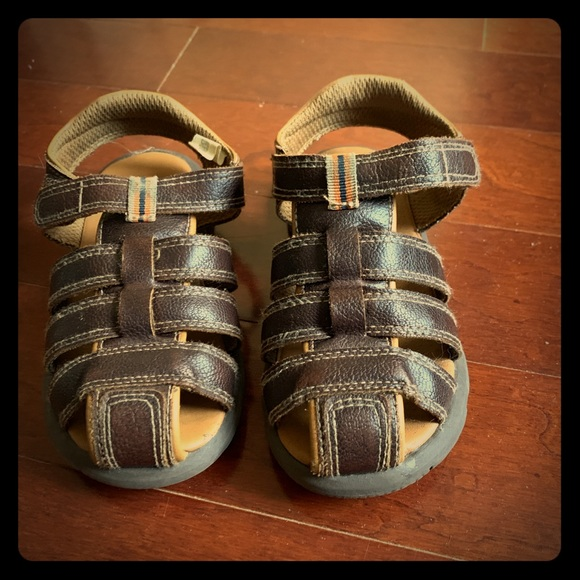 Koala Kids Other - Toddler Boy Koala Kids Brown Sandals size 9
